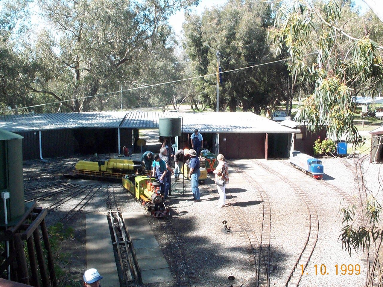 A  genral view of our yard facilities at Niana Station.